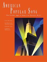 Cover of: American Popular Song