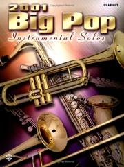 Cover of: 2001 Big Pop Instrumental Solos