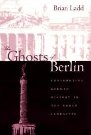 Cover of: The ghosts of Berlin