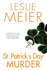 Cover of: St. Patrick's Day murder: a Lucy Stone mystery