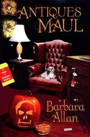 Cover of: Antiques Maul | Barbara Allan