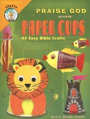 Cover of: Praise God with Paper Cups
