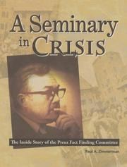 Cover of: A Seminary in Crisis | Paul Zimmerman