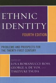 Cover of: Ethnic Identity