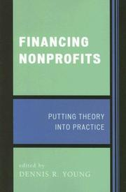 Cover of: Financing Nonprofits