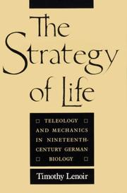 Cover of: The strategy of life