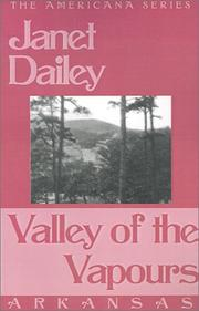 Cover of: Valley of the Vapours (Janet Dailey Americana) |