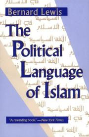 Cover of: The Political Language of Islam (Exxon Lecture Series)