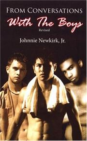 Cover of: From Conversations with the Boys | Johnnie, Jr. Newkirk
