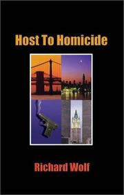 Cover of: Host to Homicide | Richard Wolf