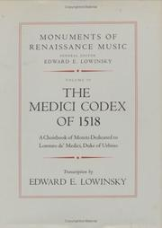 Cover of: The Medici Codex of 1518, Volume 2