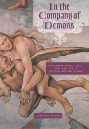 Cover of: In the company of demons