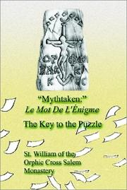 Cover of: Mythtaken | St Of the Orphic Cross Salem Monastery