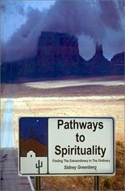 Cover of: Pathways to Spirituality | Sidney Greenberg