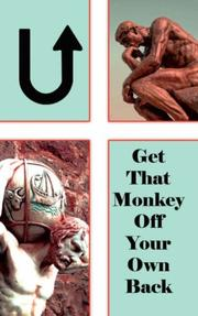 Cover of: U! Get That Monkey Off Your Own Back! | Nathaniel E. Mason