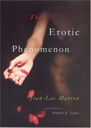 Cover of: The Erotic Phenomenon