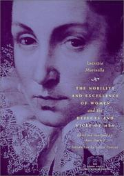 Cover of: The Nobility and Excellence of Women and the Defects and Vices of Men (The Other Voice in Early Modern Europe)