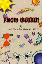 Cover of: From Within | Lewis Nicholas, III Martocci