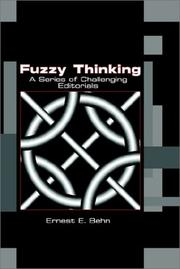 Cover of: Fuzzy Thinking | Ernest E. Behn