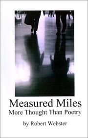 Cover of: Measured Miles | Robert Webster