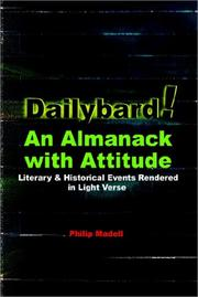 Cover of: Dailybard! An Almanack with Attitude | Philip Madell