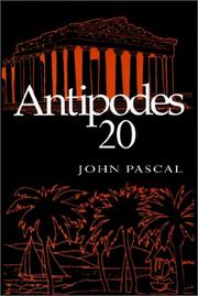 Cover of: Antipodes 20