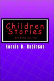 Children Stories by Ronnie D. Robinson