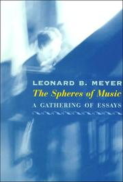Cover of: The Spheres of Music