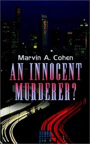 Cover of: An Innocent Murderer | Marvin A. Cohen