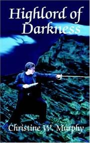 Cover of: Highlord of Darkness, Book 1, Highlord of Darkness Series (Highlord of Darkness)