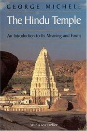 The Hindu temple by George Michell