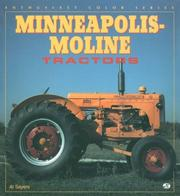 Cover of: Minneapolis-Moline tractors
