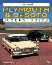 Cover of: Illustrated Plymouth & DeSoto buyer's guide