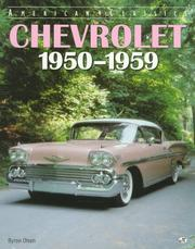 Cover of: Chevrolet 1950-1959