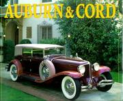 Cover of: Auburn & Cord