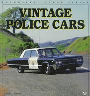 Cover of: Vintage police cars