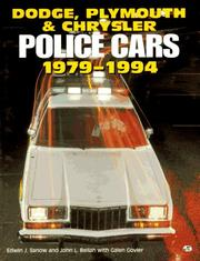 Cover of: Dodge, Plymouth & Chrysler police cars, 1979-1994
