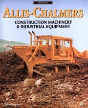 Cover of: Allis-Chalmers construction machinery & industrial equipment
