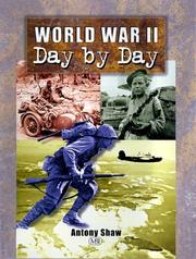Cover of: World War II Day by Day | Anthony Shaw