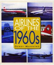 Cover of: Airliners of the 1960s | Gerry Manning