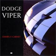 Cover of: Dodge Viper | Daniel Carney