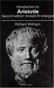 Cover of: Introduction to Aristotle