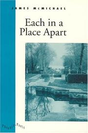 Cover of: Each in a place apart