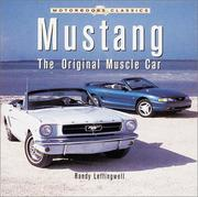 Mustang by Randy Leffingwell