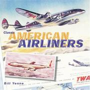 Cover of: Classic American Airliners