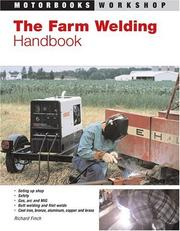 Cover of: The farm welding handbook