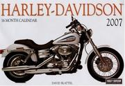 Cover of: Harley-Davidson 2007 | David Blattel