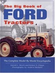 Cover of: The Big Book of Ford Tractors | Harold Brock