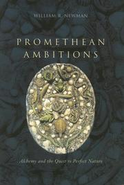 Cover of: Promethean Ambitions | William R. Newman
