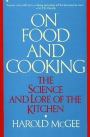 Cover of: On food and cooking